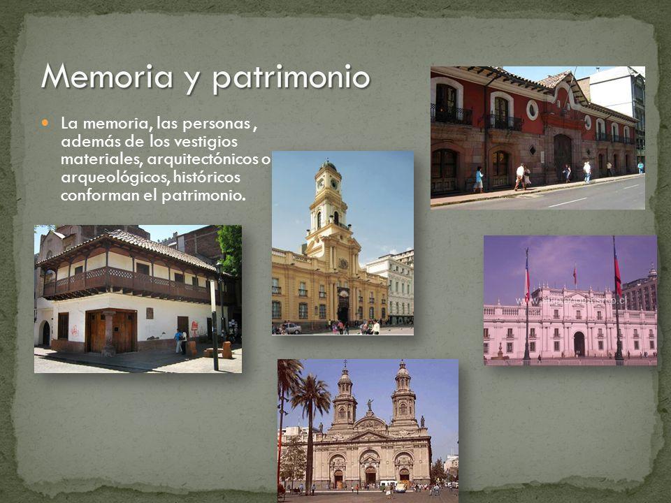 Memoria y patrimonio