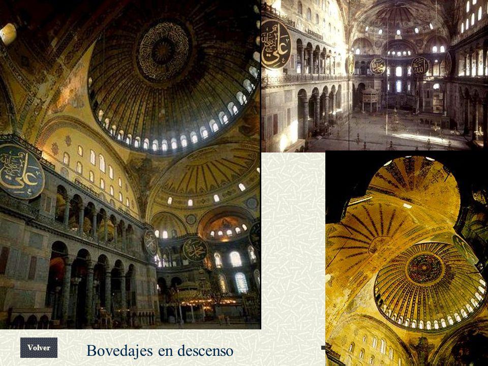 Arte Bizantino Volver Bovedajes en descenso
