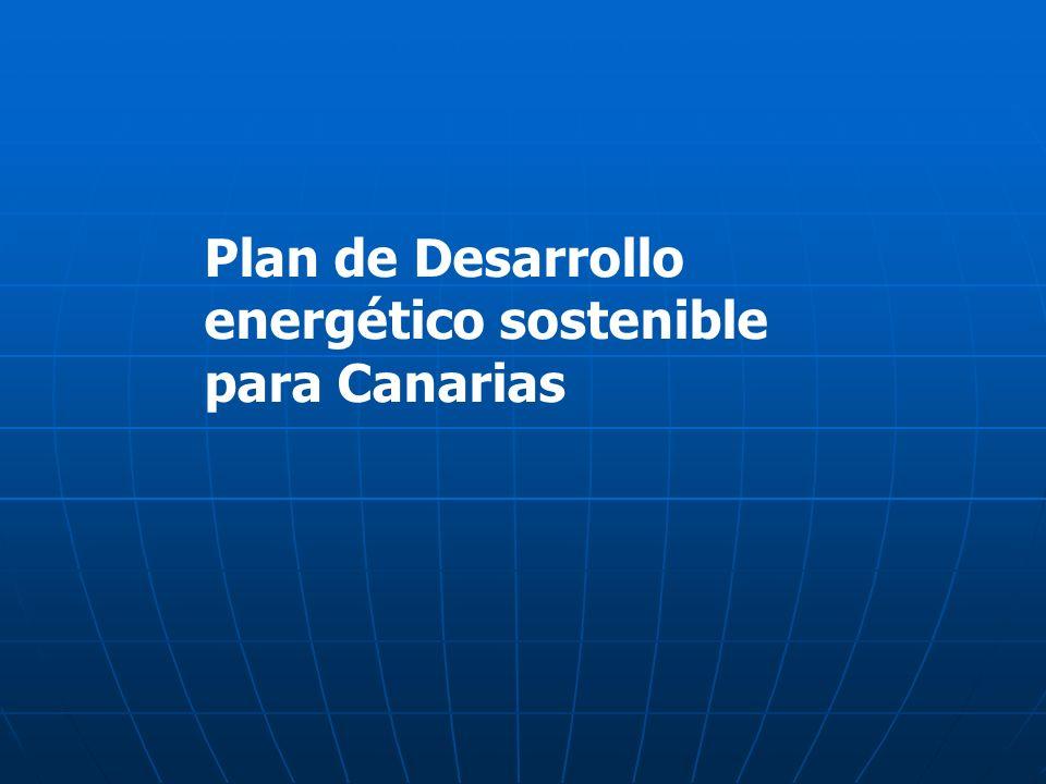 Plan de Desarrollo energético sostenible para Canarias