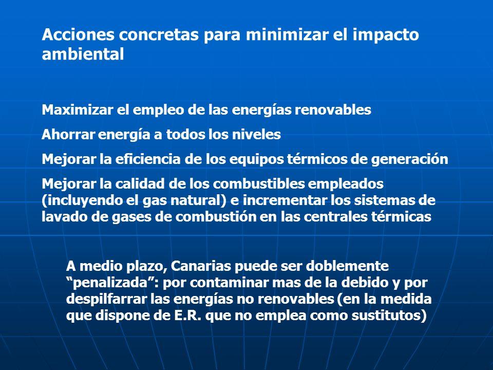 Acciones concretas para minimizar el impacto ambiental