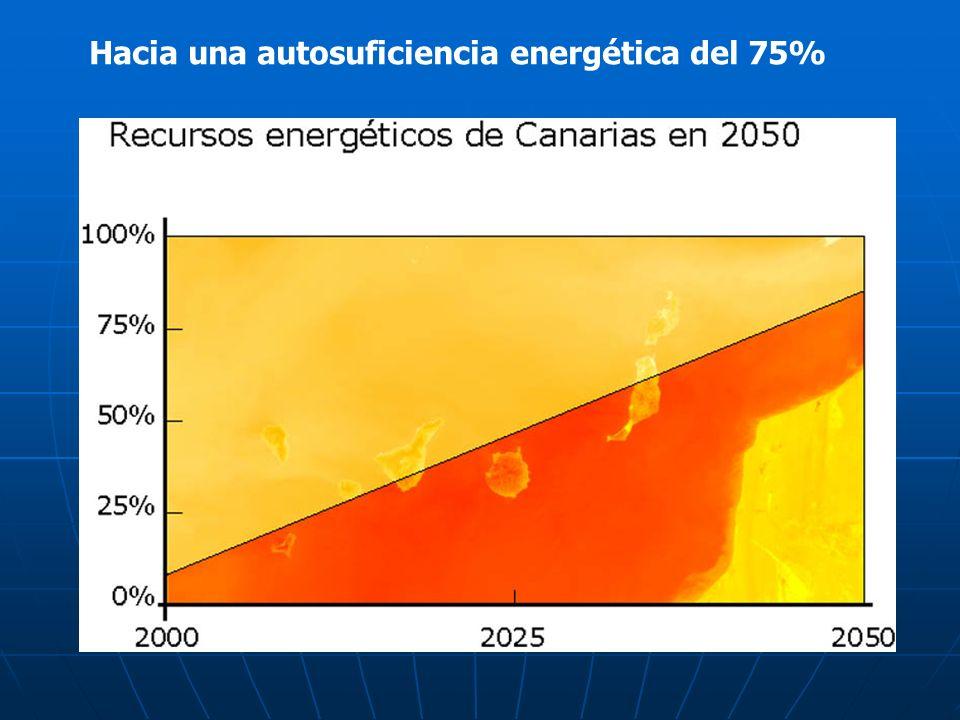 Hacia una autosuficiencia energética del 75%