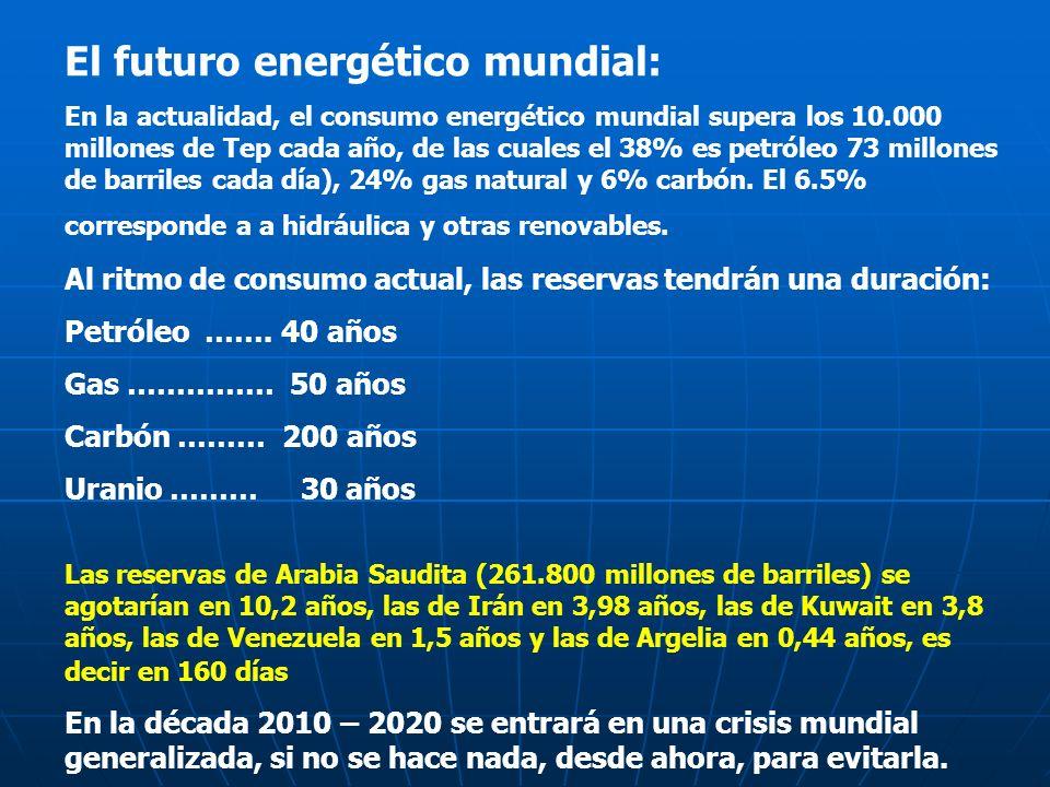 El futuro energético mundial: