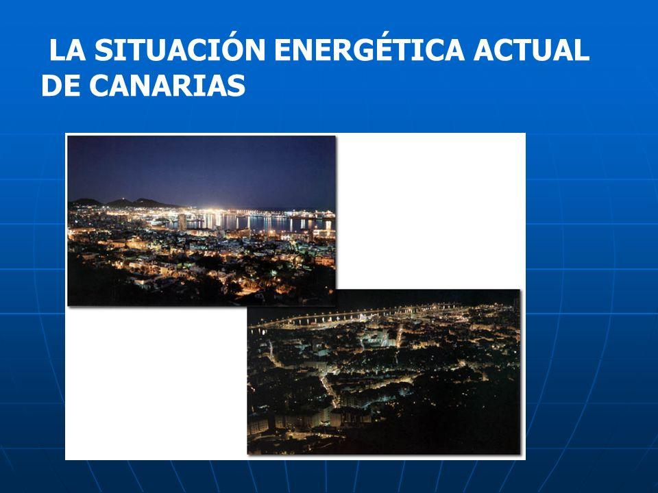 LA SITUACIÓN ENERGÉTICA ACTUAL DE CANARIAS