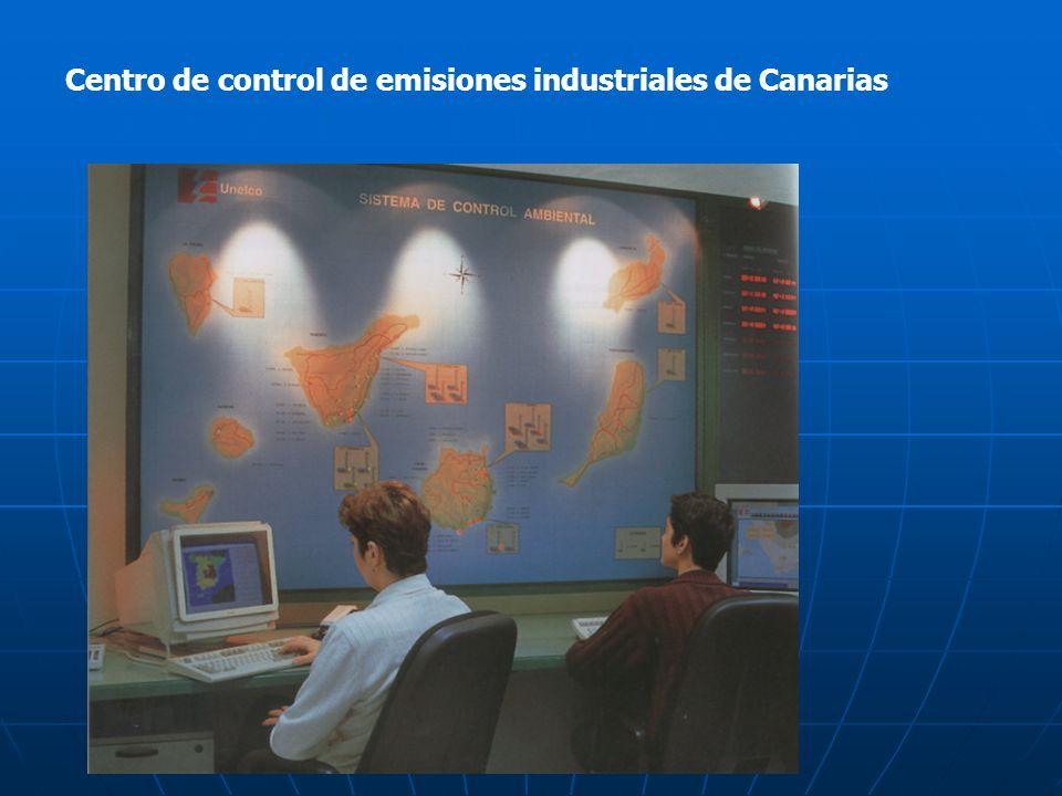 Centro de control de emisiones industriales de Canarias