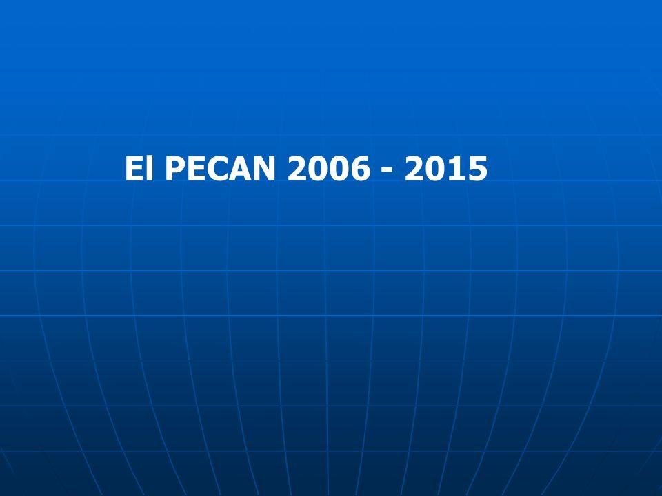 El PECAN 2006 - 2015