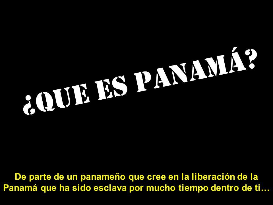 ¿Que es Panamá.