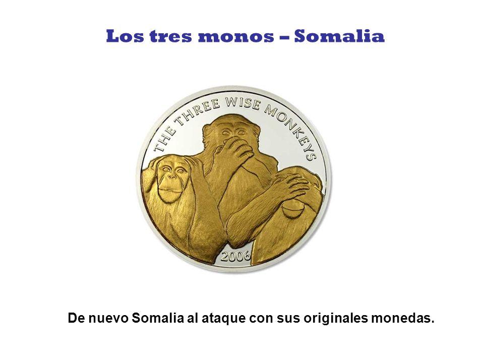 Los tres monos – Somalia