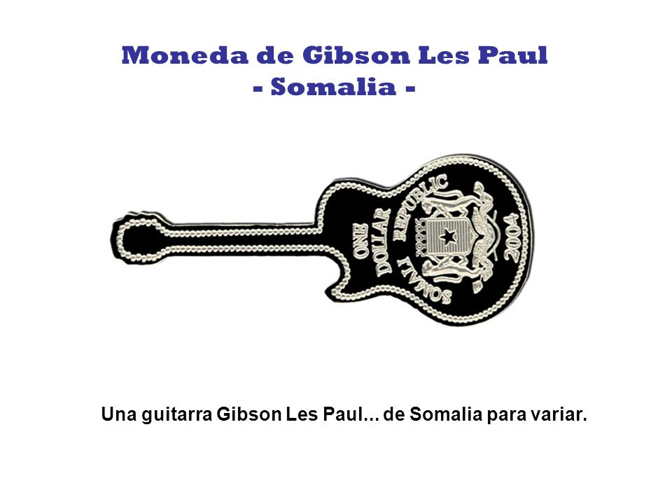 Moneda de Gibson Les Paul