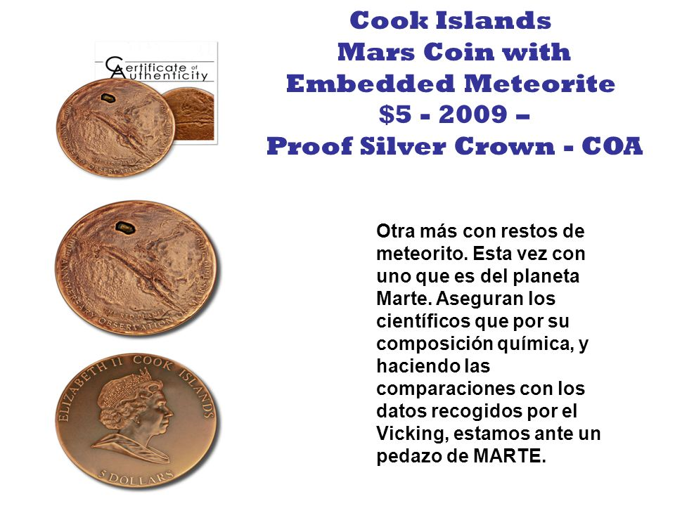 Proof Silver Crown - COA