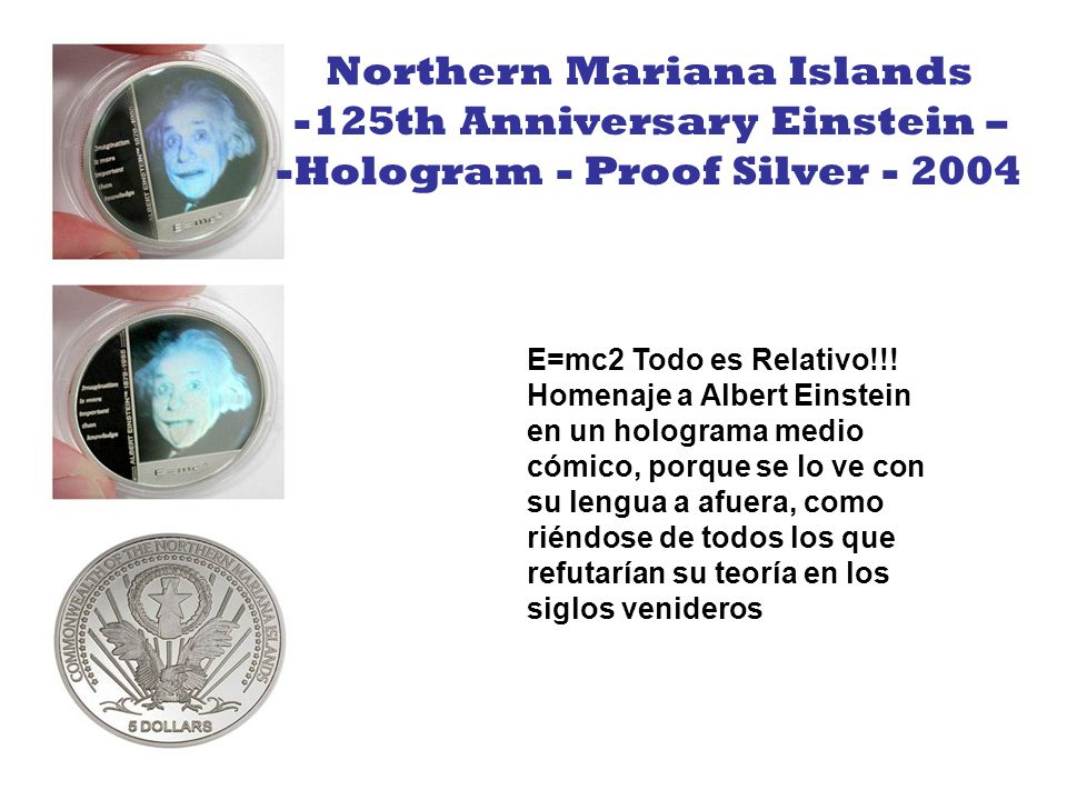 Northern Mariana Islands 125th Anniversary Einstein –