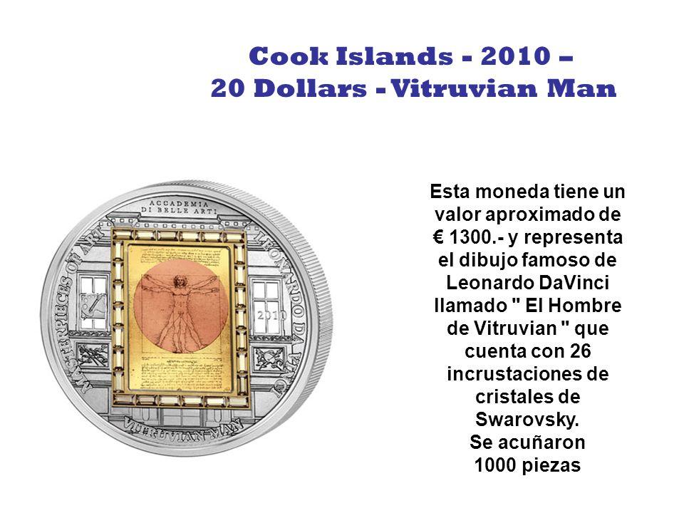 20 Dollars - Vitruvian Man