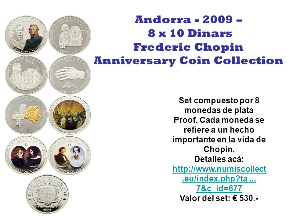Anniversary Coin Collection