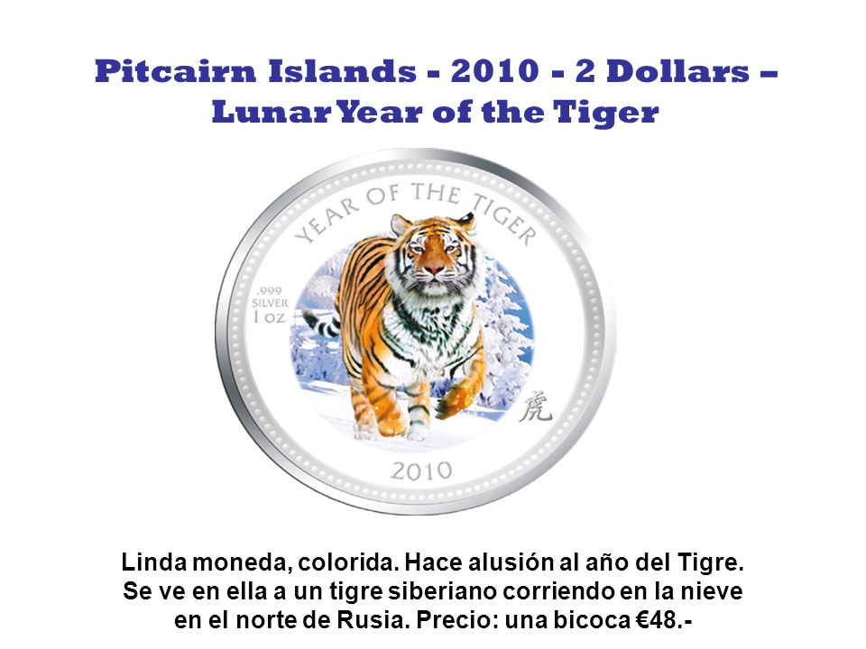 Pitcairn Islands - 2010 - 2 Dollars –