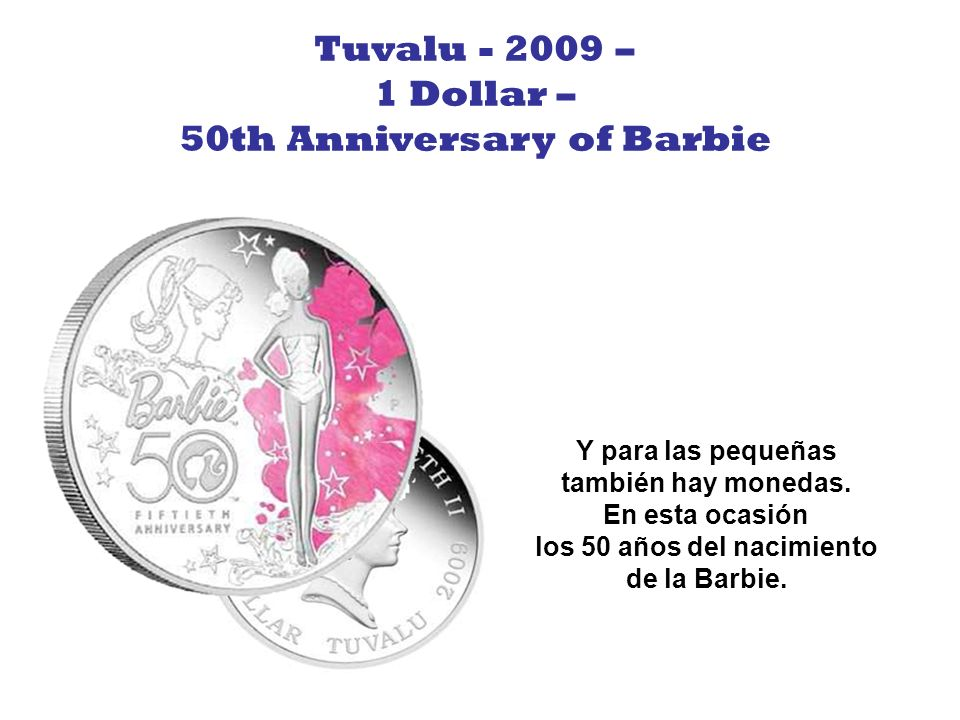 50th Anniversary of Barbie