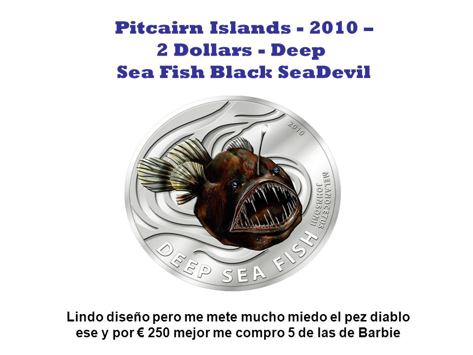 Sea Fish Black SeaDevil