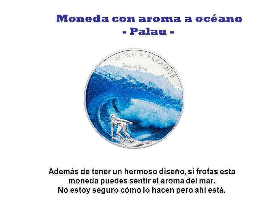 Moneda con aroma a océano