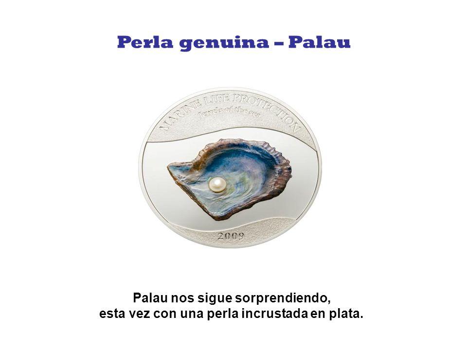 Perla genuina – Palau Palau nos sigue sorprendiendo, esta vez con una perla incrustada en plata.