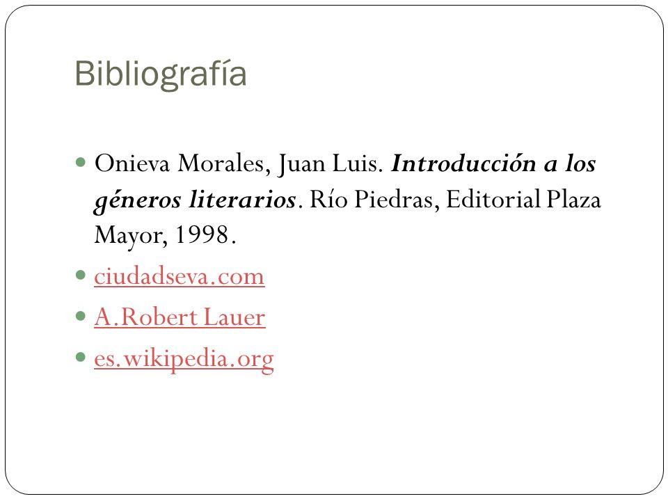 El cuento versus novela Bibliografía