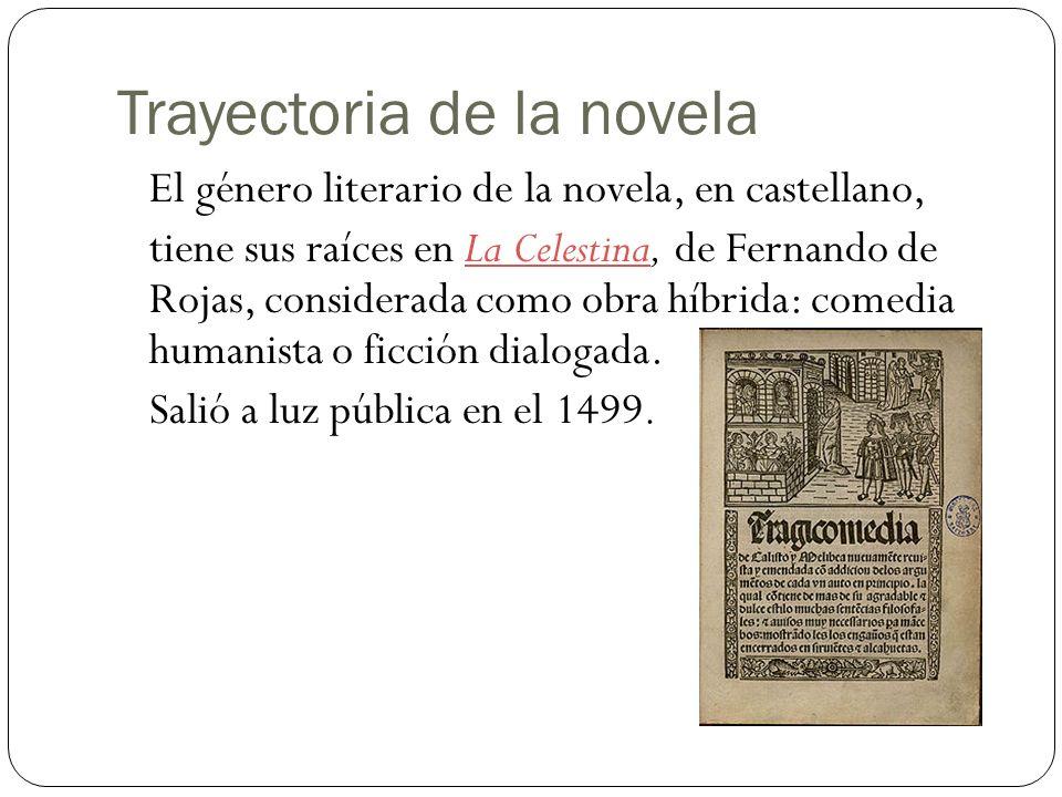 Trayectoria de la novela