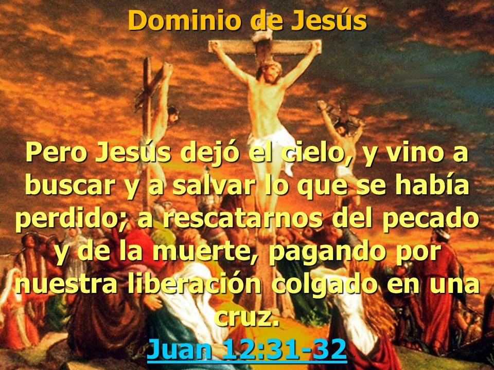 Dominio de Jesús