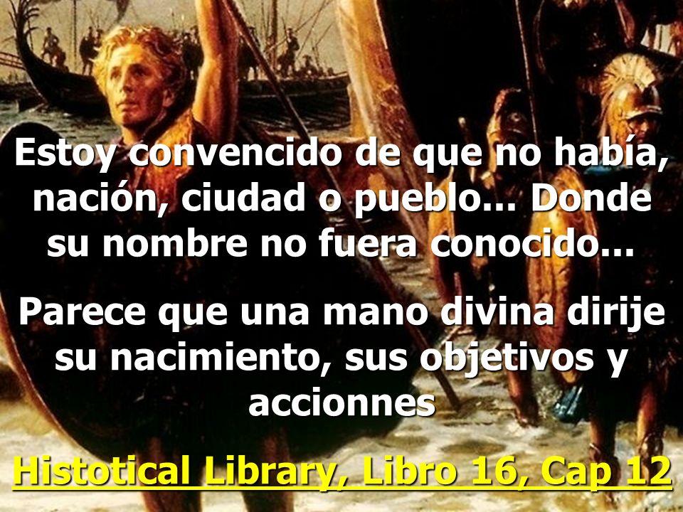 Histotical Library, Libro 16, Cap 12