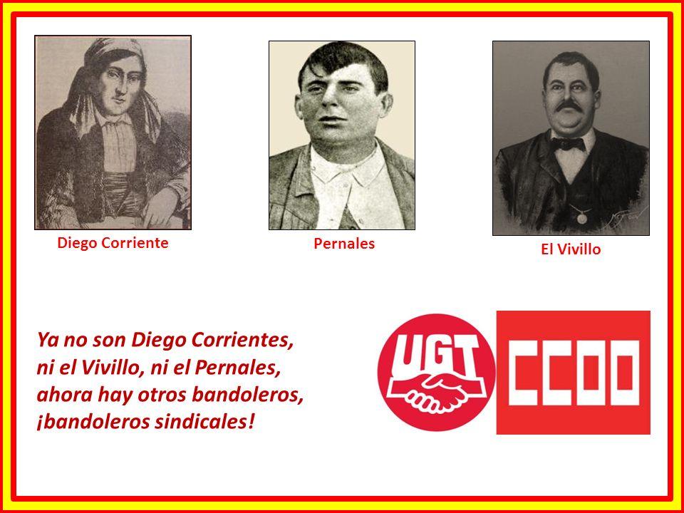 Ya no son Diego Corrientes, ni el Vivillo, ni el Pernales,