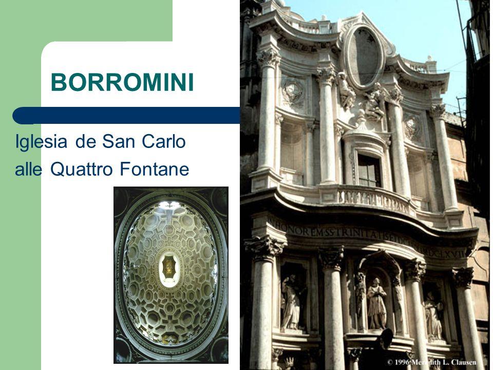 BORROMINI Iglesia de San Carlo alle Quattro Fontane