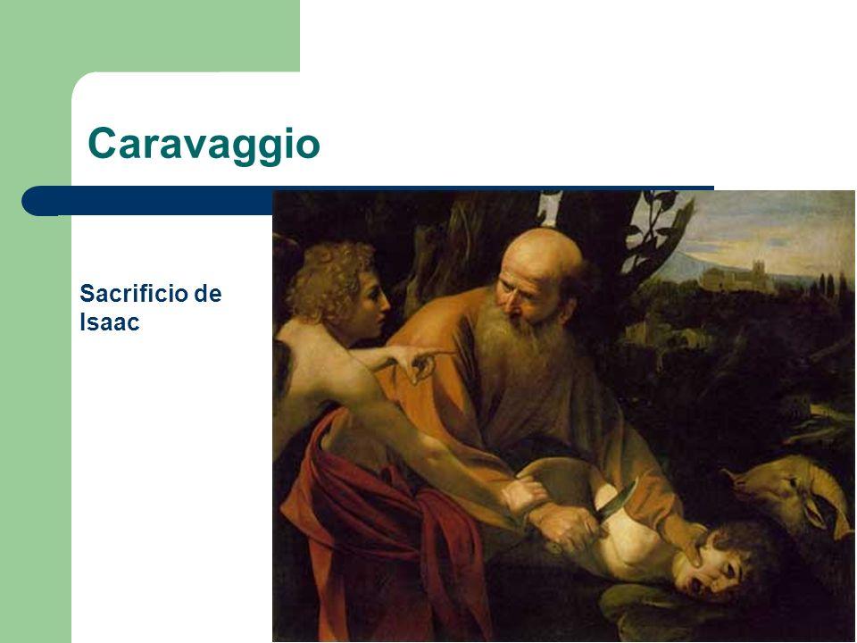 Caravaggio Sacrificio de Isaac