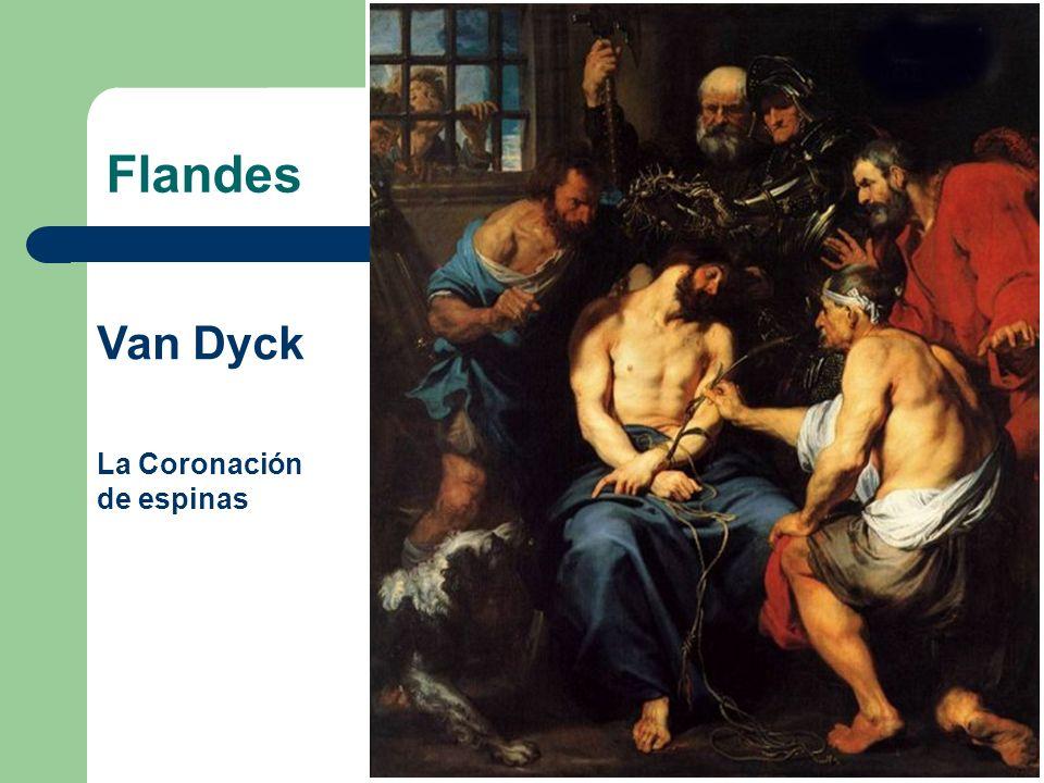 Flandes Van Dyck La Coronación de espinas