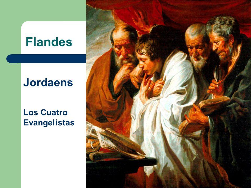 Flandes Jordaens Los Cuatro Evangelistas