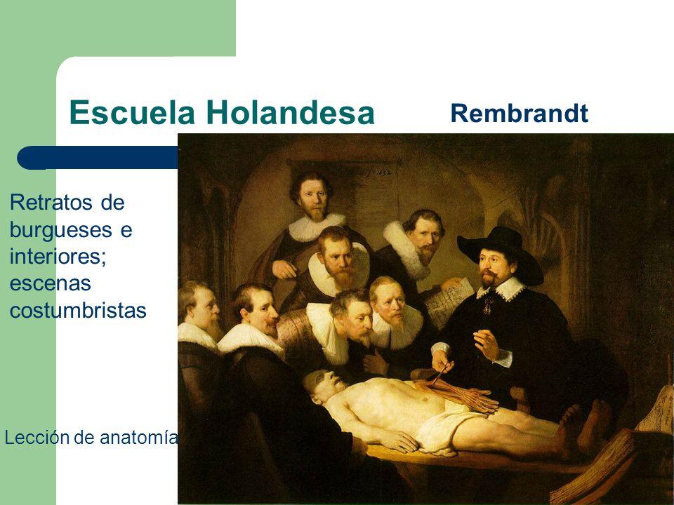 Escuela Holandesa Rembrandt