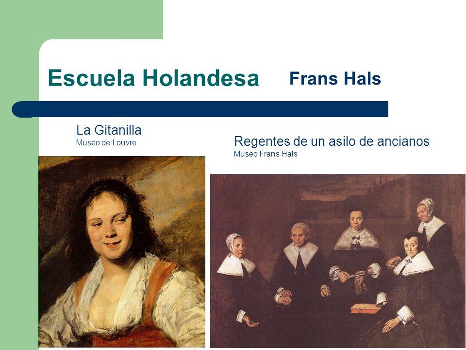 Escuela Holandesa Frans Hals La Gitanilla