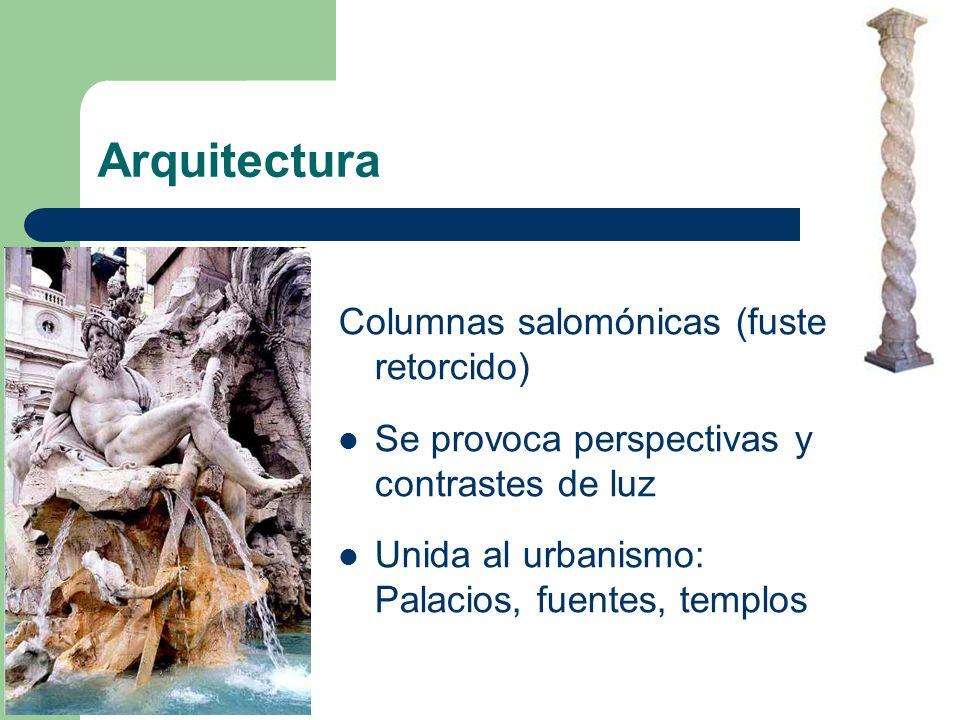 Arquitectura Columnas salomónicas (fuste retorcido)