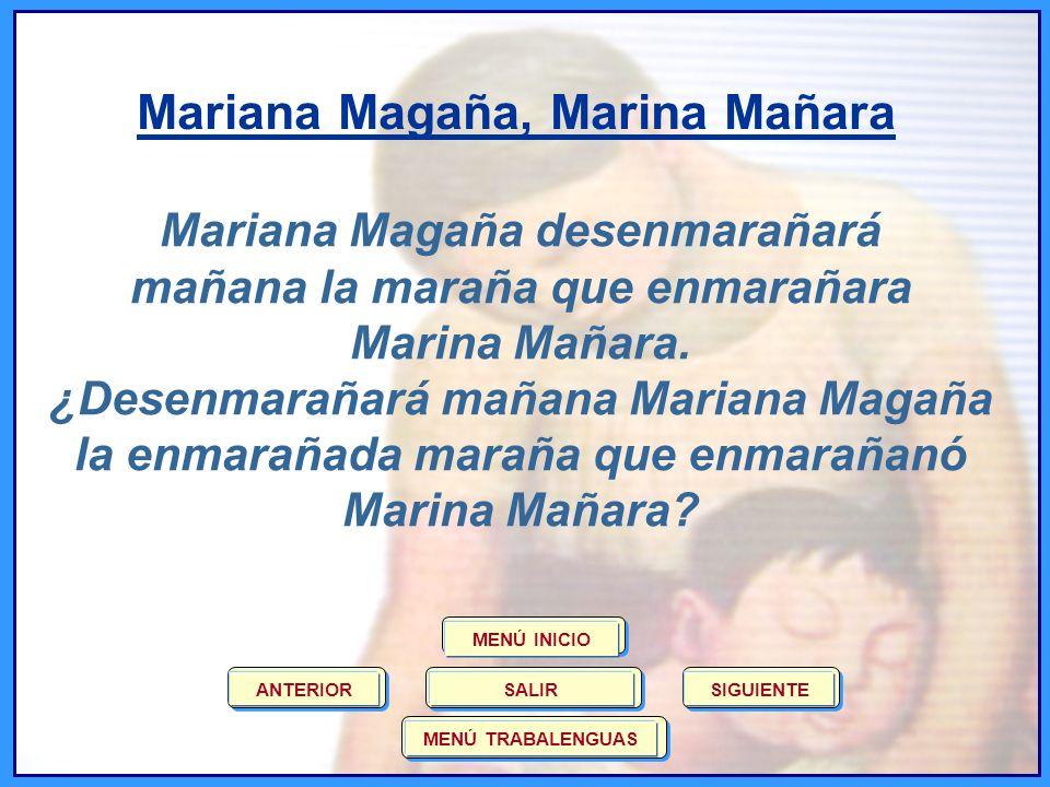 Mariana Magaña, Marina Mañara