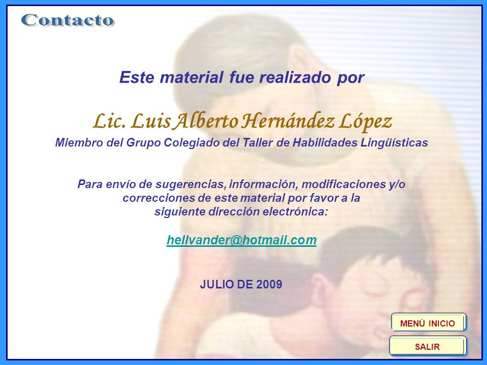 Contacto Lic. Luis Alberto Hernández López