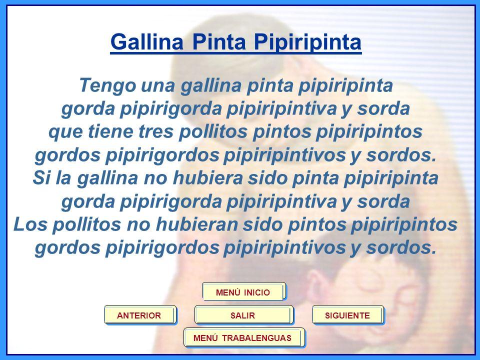 Gallina Pinta Pipiripinta