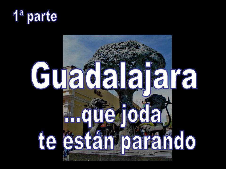1ª parte Guadalajara ...que joda te están parando