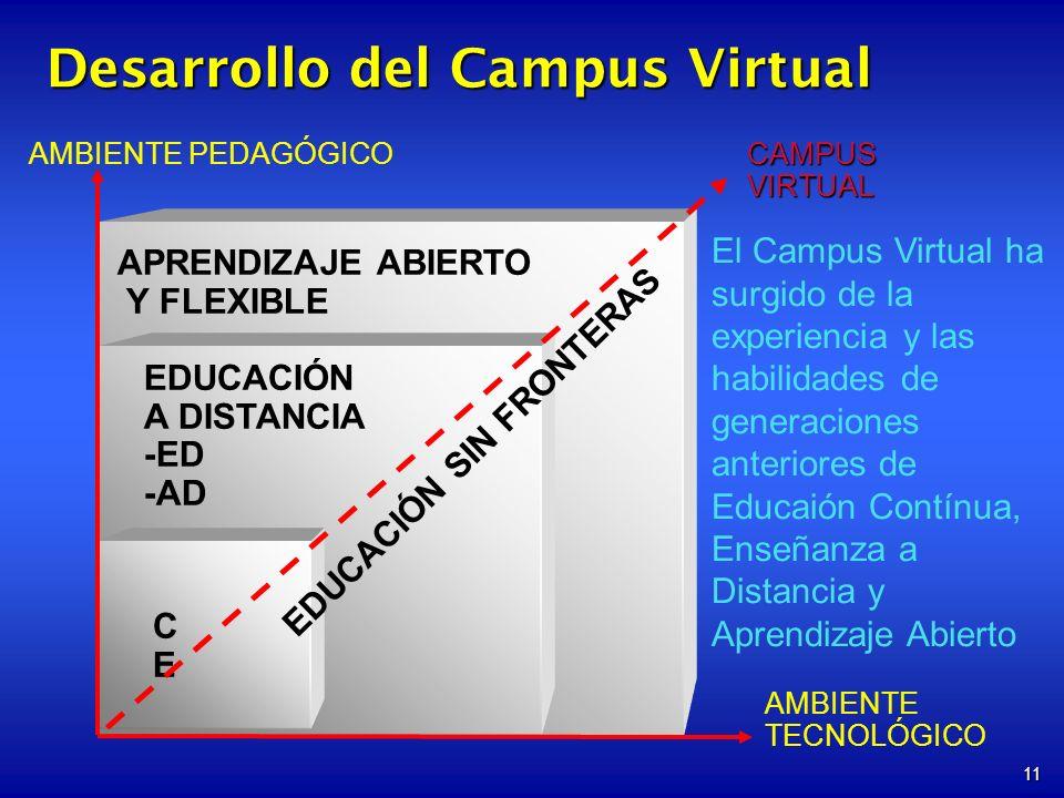 Desarrollo del Campus Virtual
