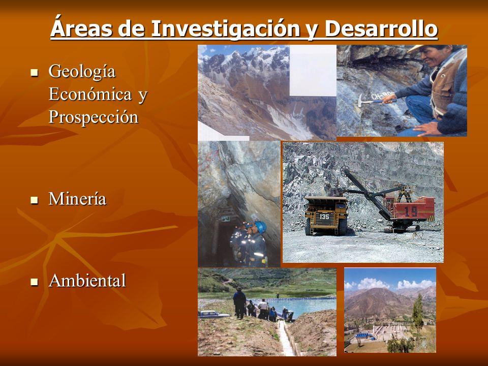 Áreas de Investigación y Desarrollo