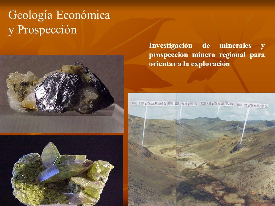 Geología Económica y Prospección