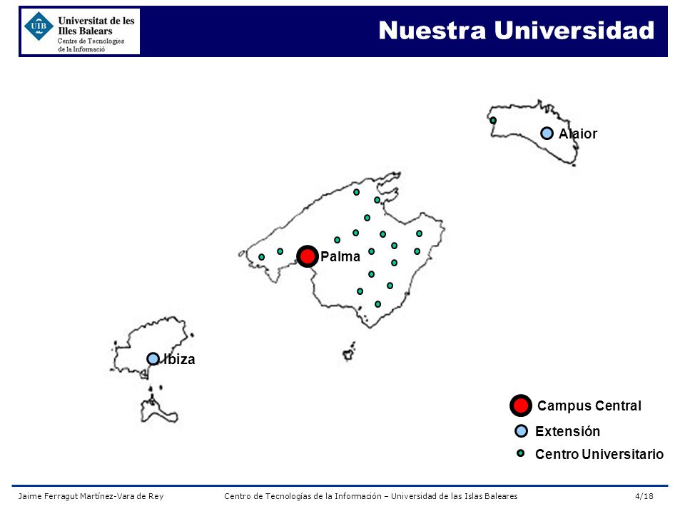 Nuestra Universidad Ibiza Alaior Palma Campus Central Extensión