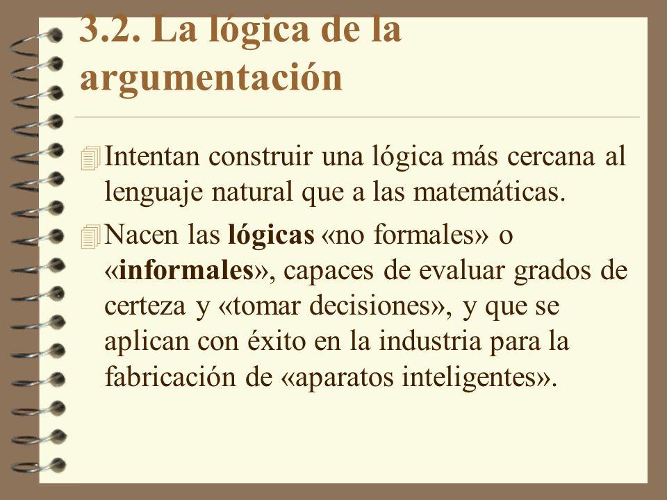 3.2. La lógica de la argumentación