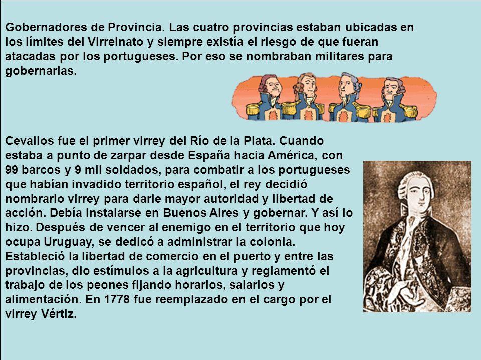 Gobernadores de Provincia