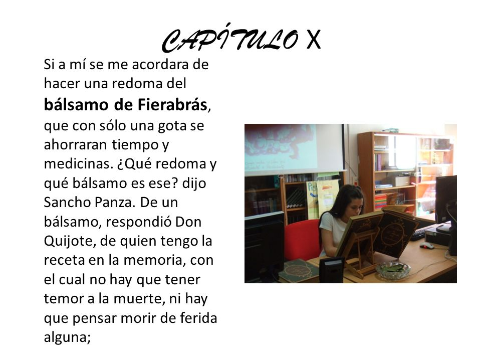 CAPÍTULO X