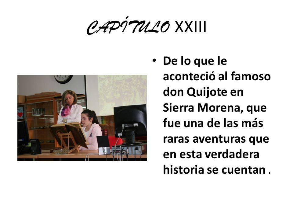 CAPÍTULO XXIII