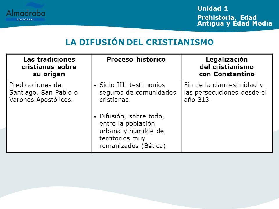 LA DIFUSIÓN DEL CRISTIANISMO