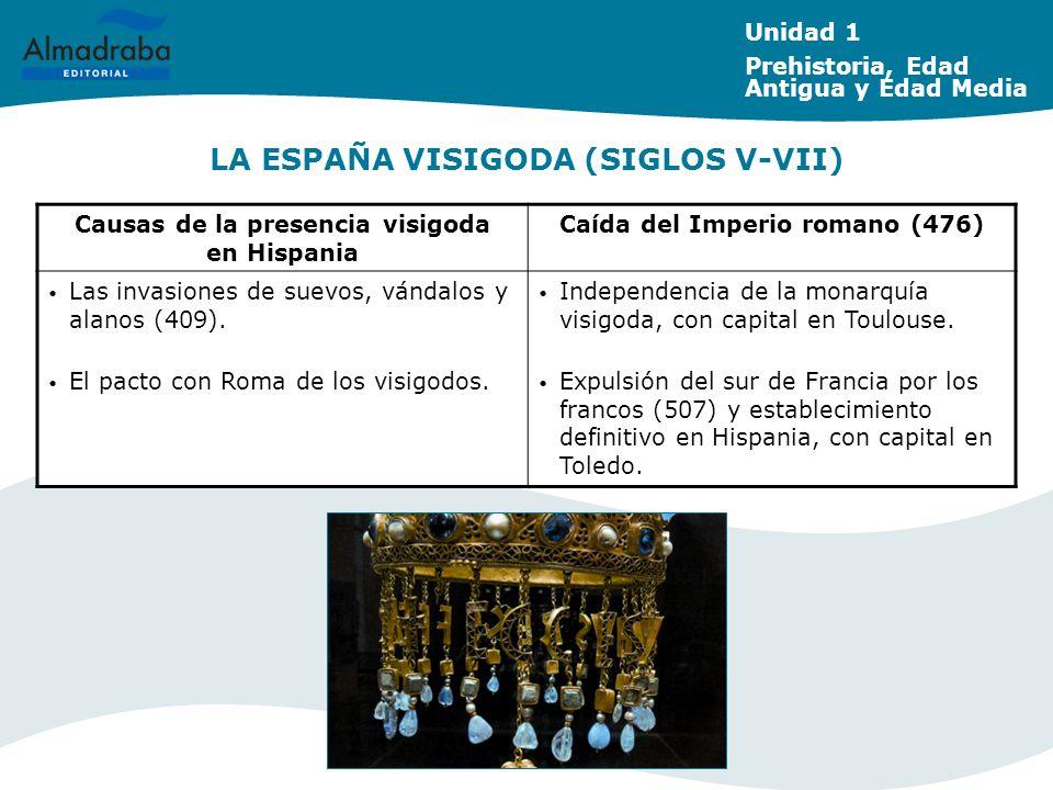 LA ESPAÑA VISIGODA (SIGLOS V-VII)