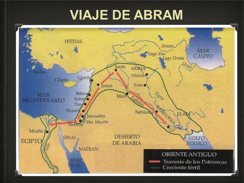 VIAJE DE ABRAM