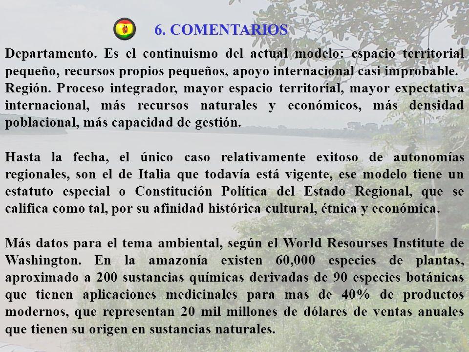 6. COMENTARIOS