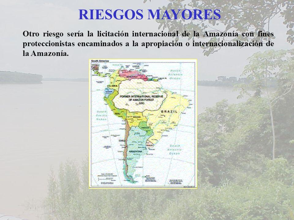 RIESGOS MAYORES